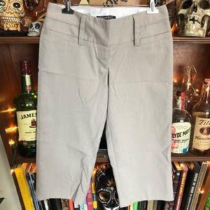 Stooshy Grey Capri Dress Pants